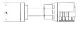 Split Flange (Code 61) Straight GW