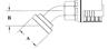 Split Flange (Code 61) 45° Bend GW